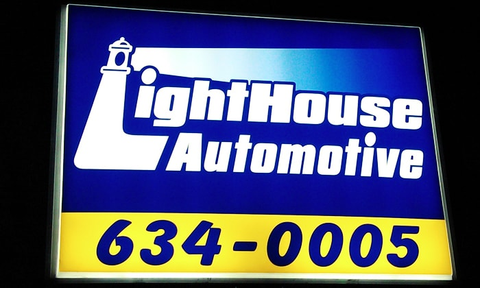 LightHouse Automotive Helps Out-of-Town Visitor with Water Pump Problem